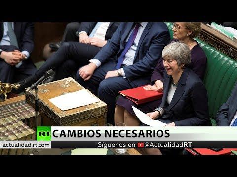 RT en Español: Reino Unido: May deberá hacer más cambios a su plan del Brexit para someterlo a la votación