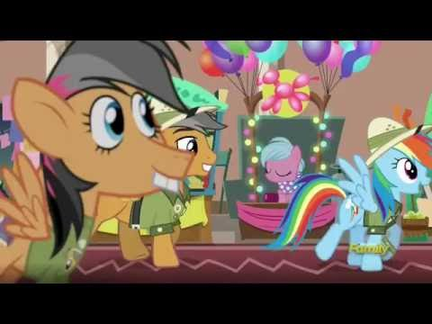 rainbow dash and quibble pants at daring do con youtube
