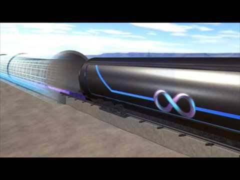 """Prueban con éxito el primer """"tren"""" que alcanza los 1.200 km/h"""