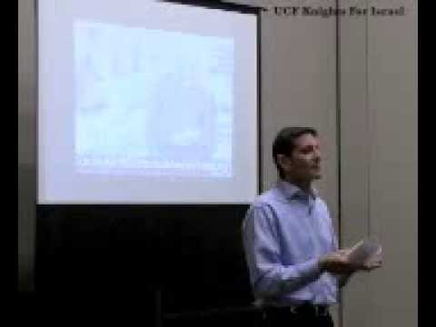 Israel's Right To Exist Lecture - Richard Bass - UCF Knights For Israel