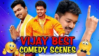 Vijay (2019) All New Best Comedy Scenes | Theri, Bhairava, Jilla, Shajahan, Kuruvi