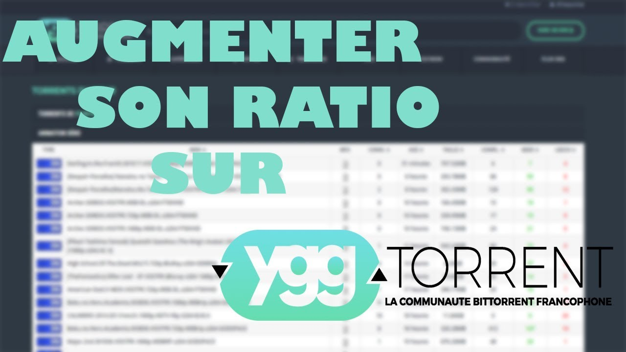 yggtorrent ratio
