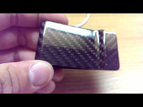 Carbon Fiber Money Clip Unpackaging