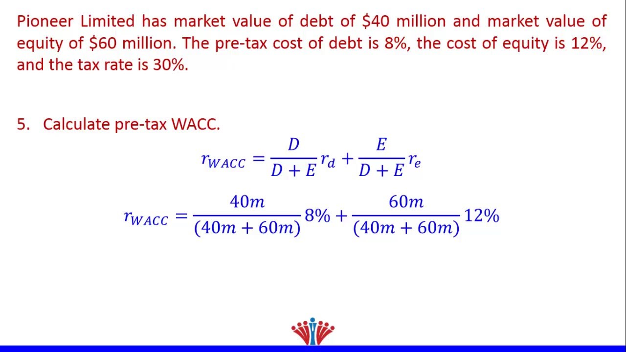 wacc computation Optimal capital structure wacc please enter the this spreadsheet allows you to compute the optimal capital structure for a non-financial service firm.