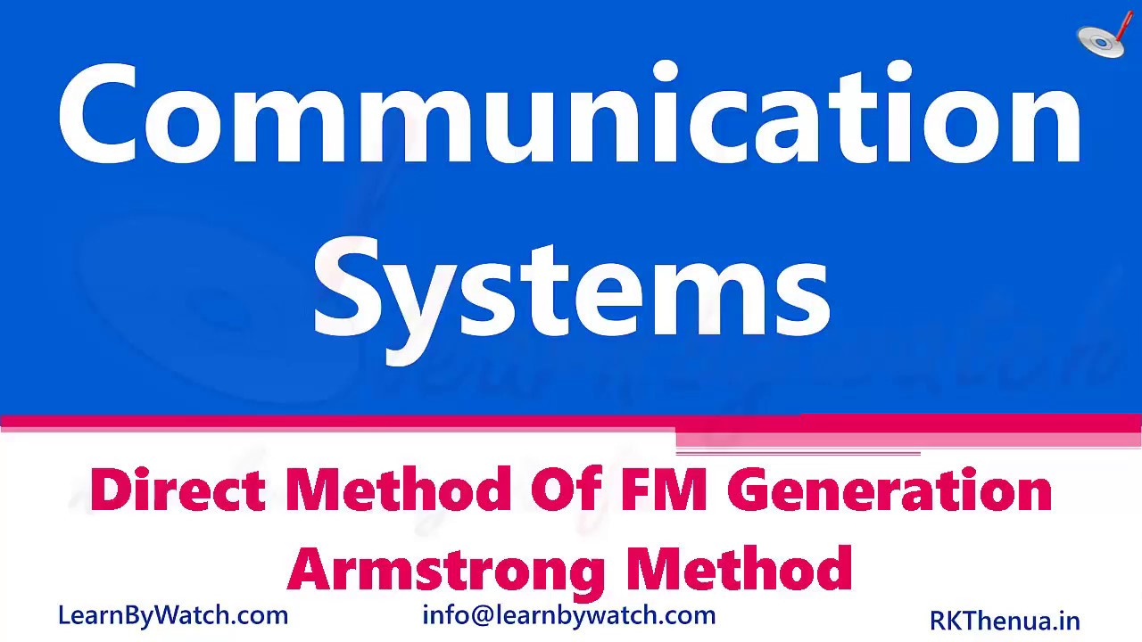 Direct Method Of Fm Generation Hartley Oscillator Hindi Urdu Frequency Modulated For Transmitter Communication System By Rajkumar Thenua