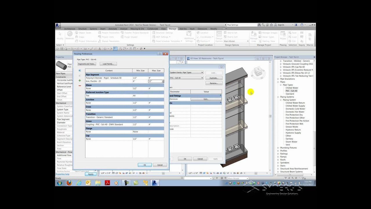 Revit Piping Tips and Tricks (Part 31 of Revit Tech Tips