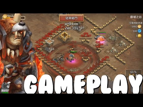 Castle Clash Beast Tamer + Grizzly Gameplay! (In Action)