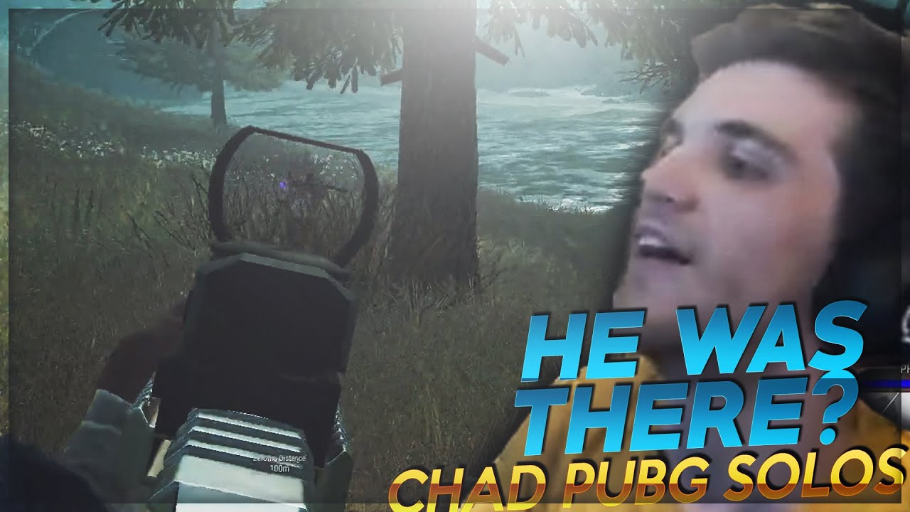 HE WAS THERE? - Chad Solo PUBG Highlights