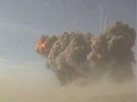 Explosions: 100 ton test detonation