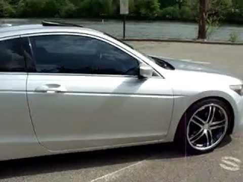 """2008 08 Honda Accord EX-L w/ Intake Dual Exaust 20"""" Rims Wheels - YouTube"""