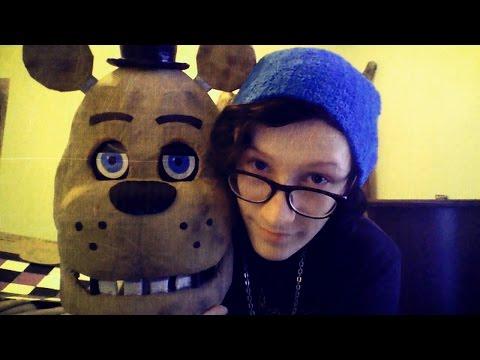 Custom made Freddy Fazbear head from Five Nights at Freddy's : DAYSTAR PANDA
