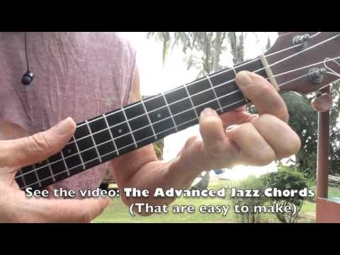 Satin Doll Jazz Ukulele Chord Melody Lesson Glen Rose Youtube