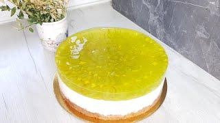 Творожный торт Без выпечки два варианта оформления