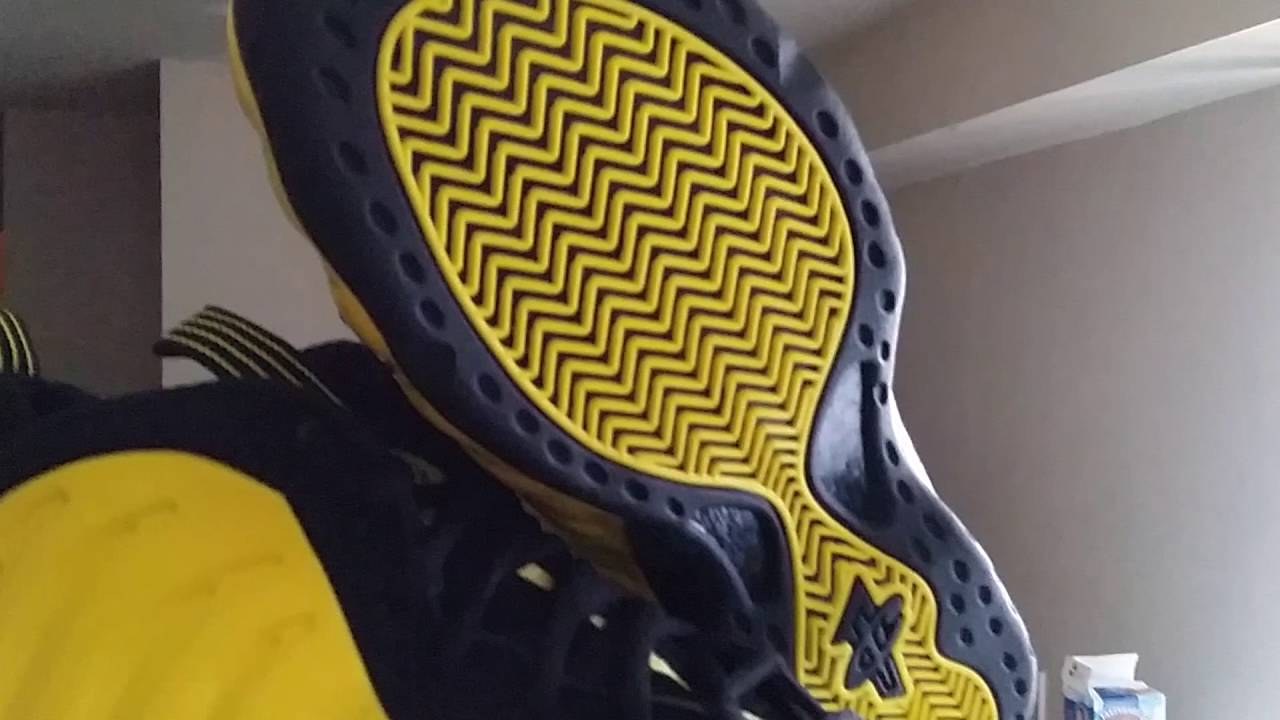 6c3f48fb696 Foamposite one wu-tang  optic yellow unboxing   review - YouTube