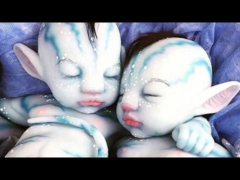 Image Result For Real Life Avatar Baby Dolls