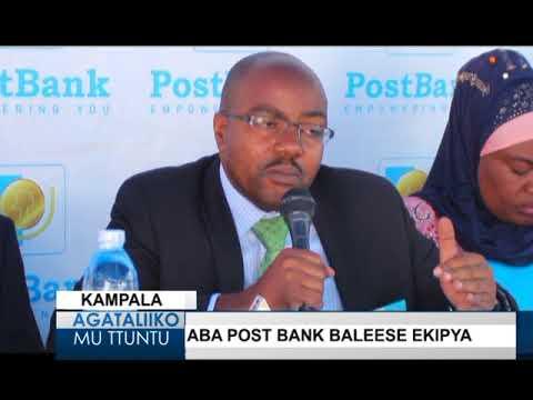 Aba Post bank baleese ekipya