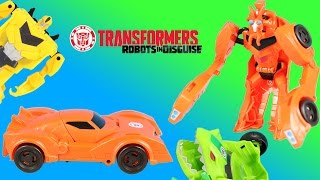 Transformers Robots in Disguise Bisk One-step & Decepticons Plan to Defeat Autobots!