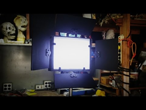 diy led panel light build by infested films youtube. Black Bedroom Furniture Sets. Home Design Ideas