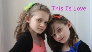 Repeat youtube video Sapphire 10yrs and Skye 7yrs Singing - This Is Love by Will.I.Am ft. Eva Simons THE VOICE UK