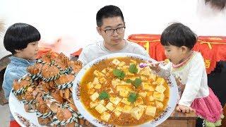 150元12隻母大閘蟹,這樣做一盤蟹黃豆腐,真是人間美味