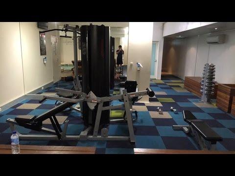 Novotel Melbourne - Push Workout