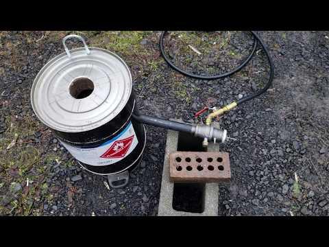 Metal melting furnace first burn