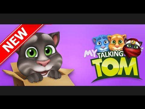 Говорящий Том мультик игра 2017 на андроид для детей 1 серия / Talking Tom cartoon game 2017