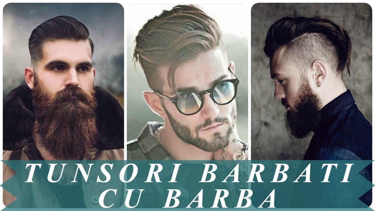 Modele De Tunsori Barbati Cu Barba Youtube