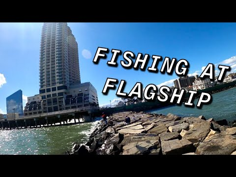 FISHING FOR TOG AT THE FLAGSHIP JETTY