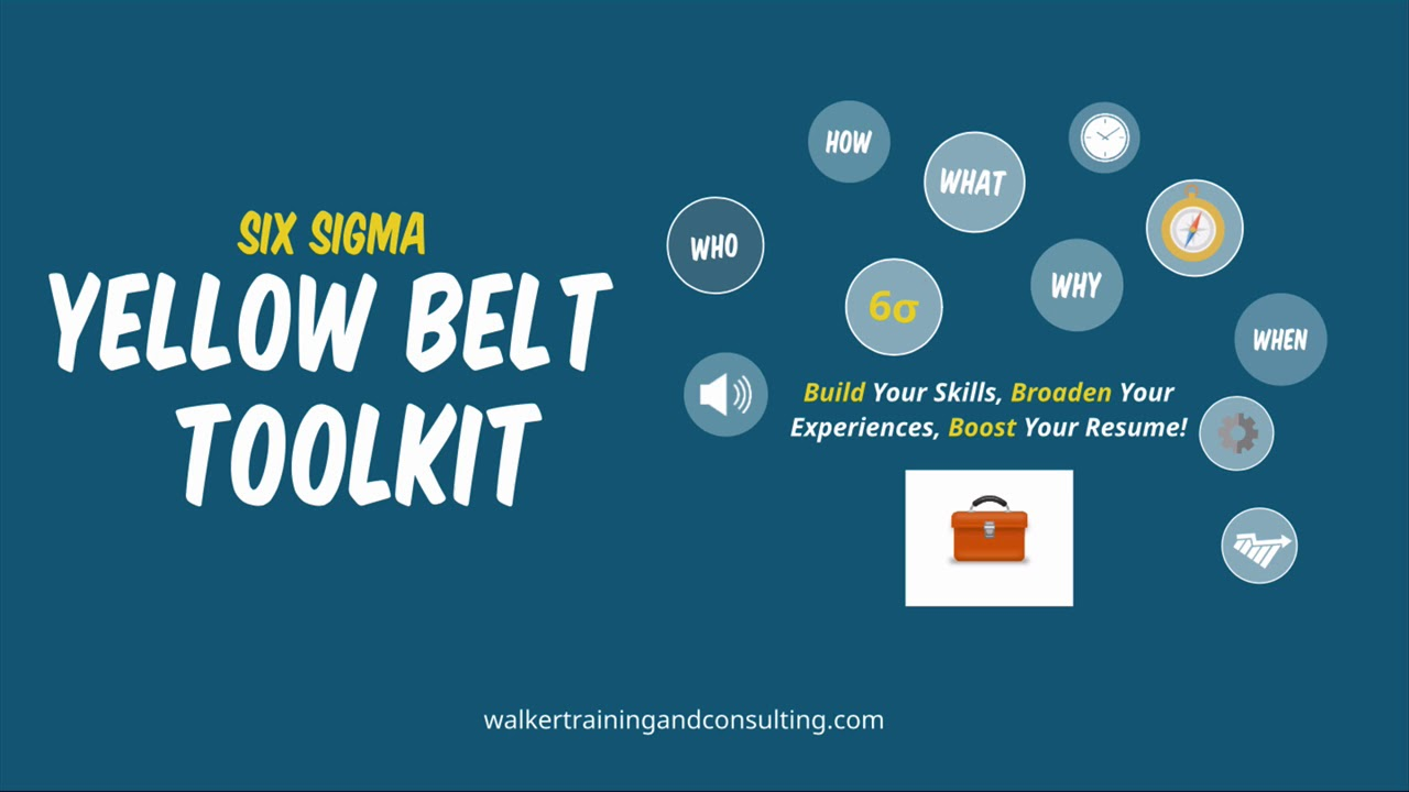 The six sigma yellow belt toolkit youtube the six sigma yellow belt toolkit xflitez Images