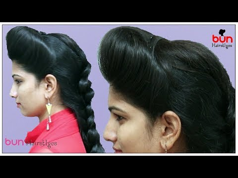 1 Min front puff for thin hair | Easiest way to make front puff | Perfect PUFF for THIN HAIR!