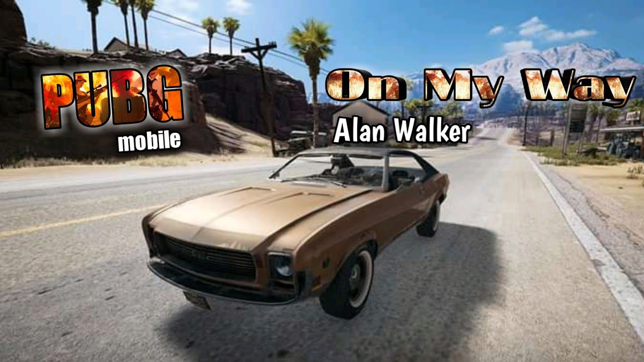 On My Way - Remix - Alan Walker With Lyrics Video - YouTube