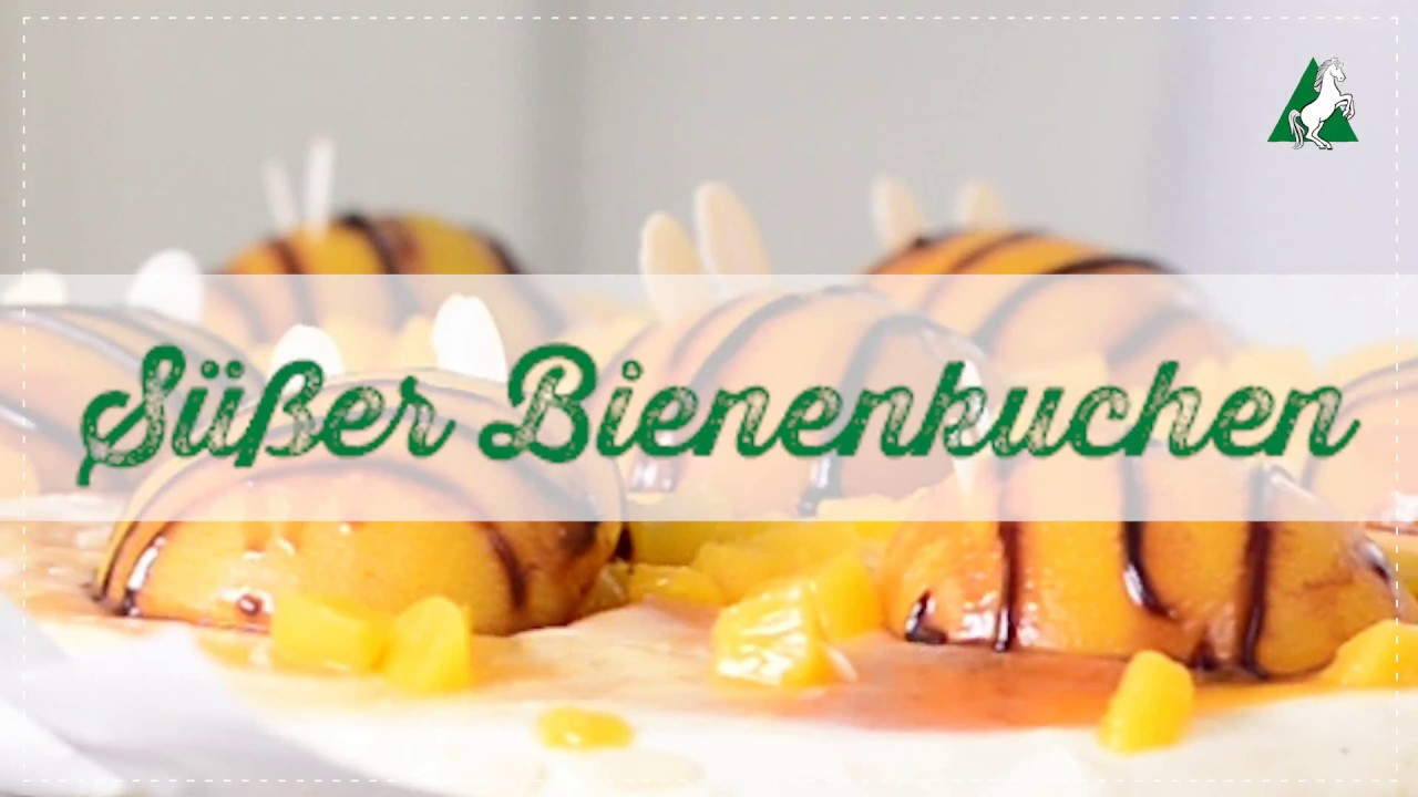Susser Bienenkuchen Rosselmehl Backvideo Youtube