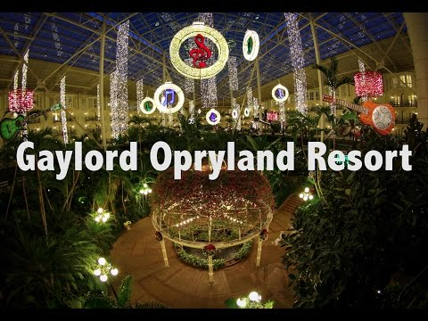Gaylord Opryland Resort ITS HUGE