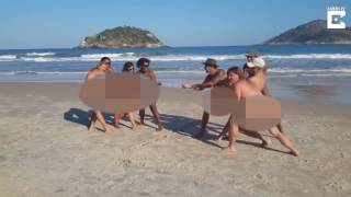 Rio plays host to the NAKED Olympics