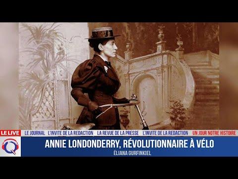 Annie Londonderry, révolutionnaire à vélo - Un jour notre Histoire du 31 aout 2021