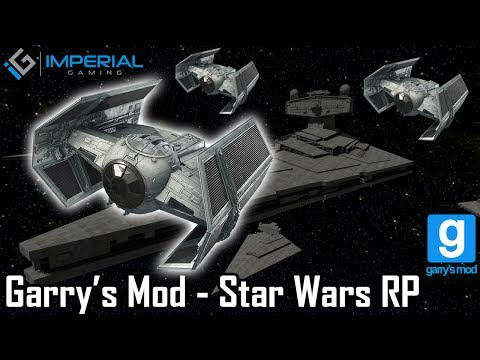 Imperial Gaming - Garry's Mod - StarWarsRP (HIGHLIGHTS) Dog Fighting [IMPERIAL GAMING]