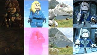 Всі невидимі герої відеоігор Лего! (2010 - 2018) ЧАСТИНА 1