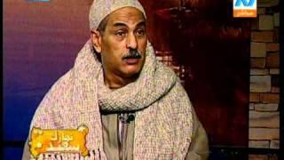 حسين ابو دومة حصرى على التلفزيون المصرى