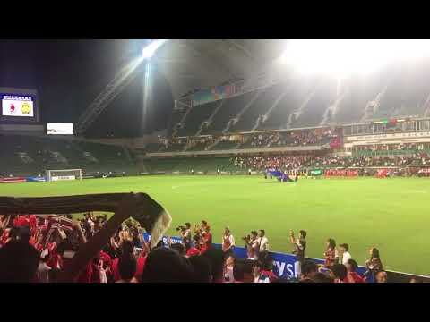 Fans boo Chinese national anthem during Hong Kong-Malaysia soccer match