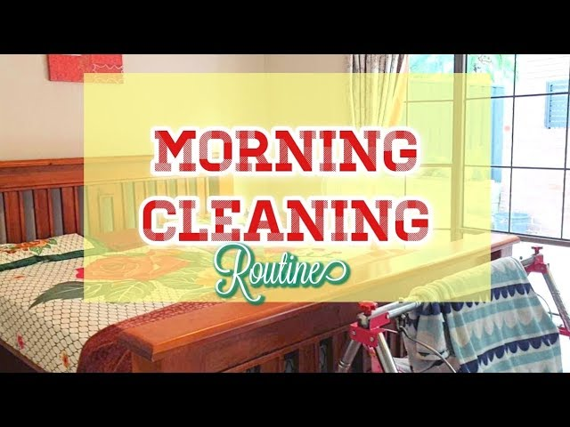 Clean With Me 2019 My Morning Cleaning Routine Speed Clean Motivation