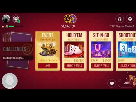 200 GOLD - Spinning Lucky Bonus - BIG WIN! - Zynga Texas HoldEm Poker
