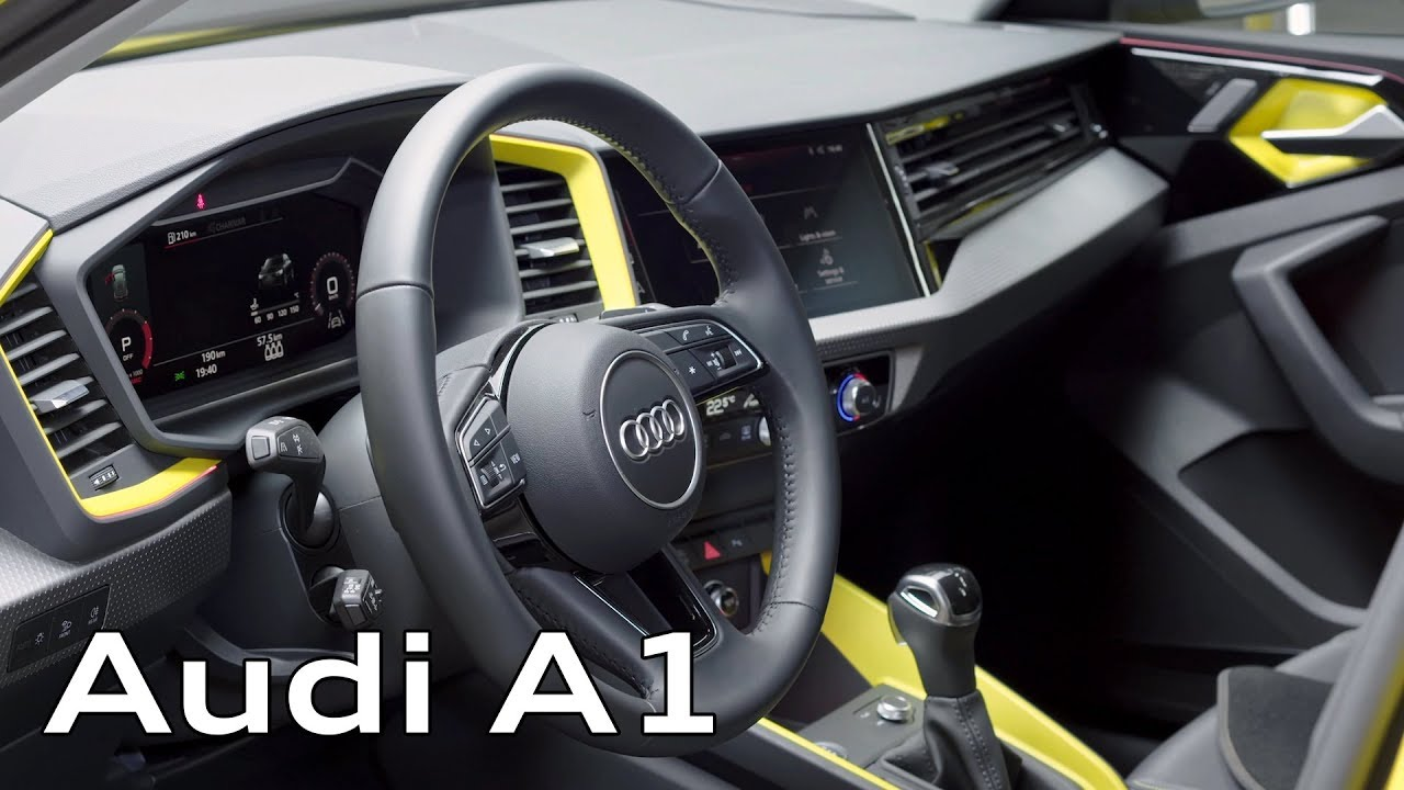 2019 Audi A1 Sportback Interior Youtube
