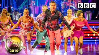 Chris and Karen Salsa to 'Uptown Funk' - Blackpool | BBC Strictly 2019