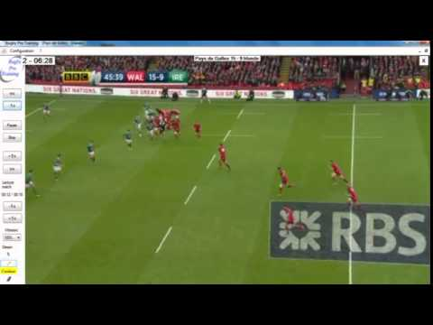 Rugby : defense after scrum