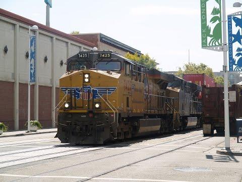 Railfanning Oakland Jack London Square 7/20/2015