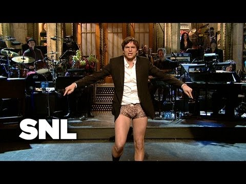 Ashton Kutcher Monologue: Maturity - Saturday Night Live