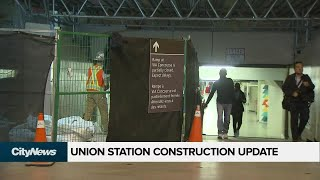 What's the delay with the Union Station revitalization project?