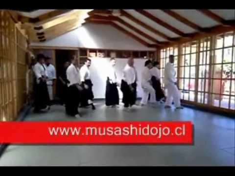 AIKIDO CHILE - JORGE ROJO SENSEI EN DOJO CURAUMA.wmv