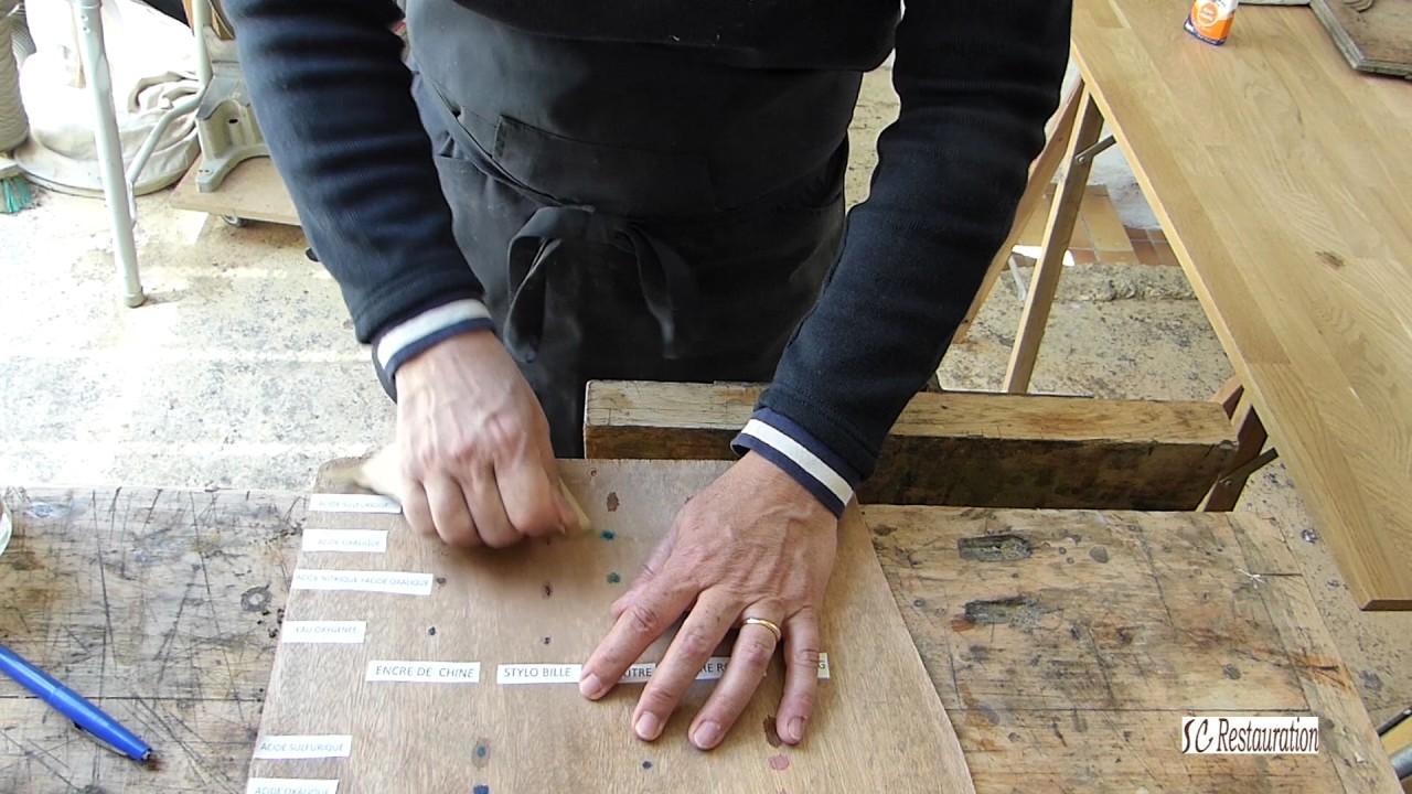 Tache D Eau Sur Bois Ciré comment enlever les taches sur le bois?